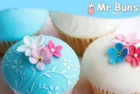 Mr Buns Bakery - Three Hour Cupcake Decorating Class For Two - Save 55%