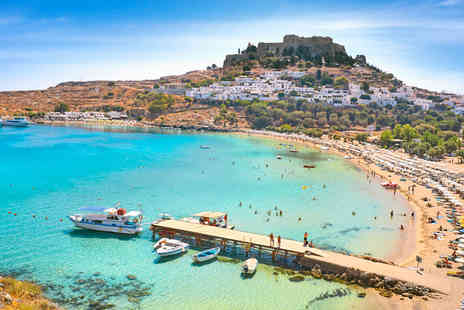 Super Escapes Travel - Seven night all inclusive Rhodes holiday with return flights - Save 23%