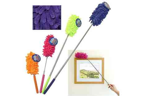 London Exchain Store - An extendable microfibre washable duster - Save 80%