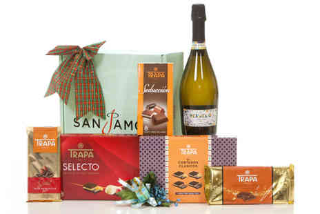 San Jamon - Chocolate and prosecco hamper - Save 60%