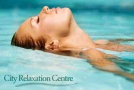 City Relaxation Centre - Three 60 Minute Sessions of Floatation Therapy - Save 64%