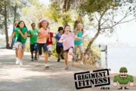 Regiment Fitness - Junior Bootcamp For One Children With Lunch - Save 70%