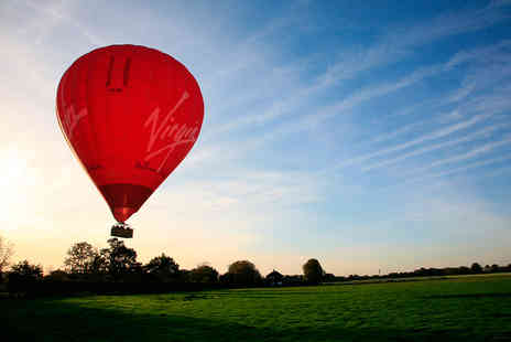 Virgin Experience Days - Weekday Sunrise Virgin Hot Air Balloon Flight for Two - Save 16%
