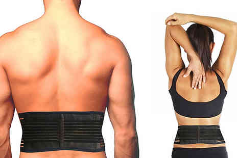 ugoagogo - 3 in 1 Self Heating Magnetic Back Wrap And Support - Save 67%