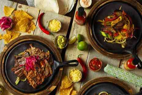 Chiquito - Two course dining for two people - Save 54%