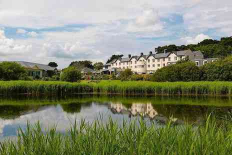 Arklow Bay Hotel - County Wicklow stay for two people with breakfast, two course dining, bottle of wine, full use of leisure facilities and spa credit - Save 44%