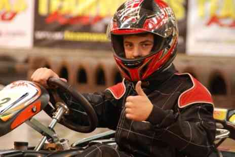 Teamworks Karting - 30 Minute Go Kart Racing for Up to Four - Save 54%