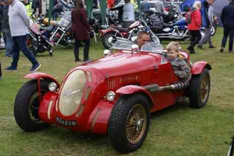 Bath Festival of Motoring - Two tickets for one adult and up to 4 children to Bath Festival of Motoring on 15 To 16 June 2019 - Save 50%