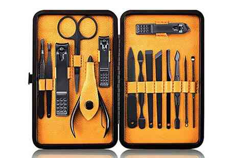 Groupon Goods Global GmbH - One, Two or Three Groomarang 15 Piece Mens Grooming Kits - Save 0%
