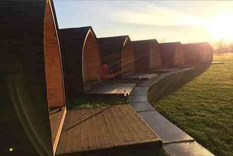 Rodway Hill Golf Course Eco Hotel - One, Two or three night break for two in an Eco pod with unlimited golf and breakfast - Save 38%