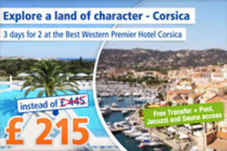 Best Western - Dream holiday in Corsica for 2 nights for 2- Save 52%