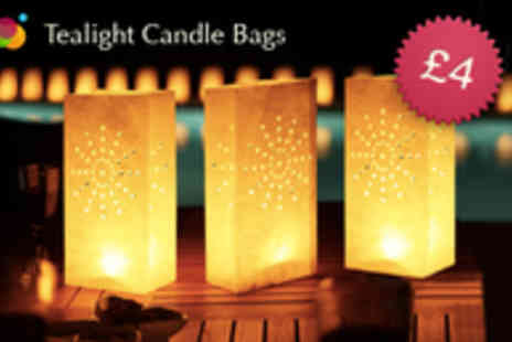 Gift Me Something Special - Three Tealight Lantern Bags - Save 56%