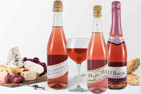 All My Wine - 12 Bottles of Rose Lambrusco and Prosseco Wines - Save 65%
