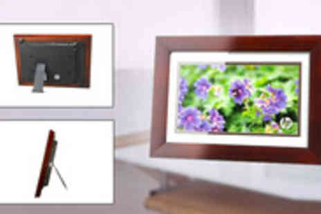 clearance deal - HP 10 inch Digital Picture Frame Perfect image storage and display unit - Save 50%
