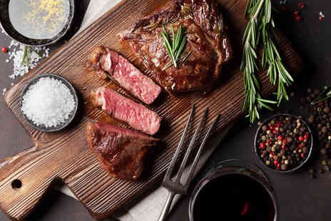 Bazil Brasserie - Steak dinner for two people or include wine or steak dinner for four or include wine - Save 58%