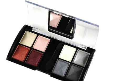 GetGorgeous - Eight colour compact mirror eyeshadow palette choose from four shade options - Save 80%