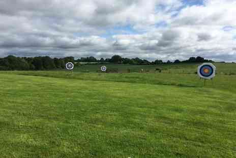 Thurlaston Airgun and Archery Centre - One hour archery experience for two people or family of four - Save 80%