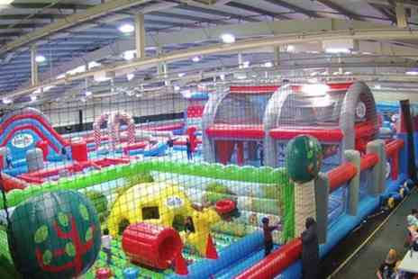 Boing Zone - Childrens Inflatable Bounce or Combination Party for Ten with Optional Food - Save 21%