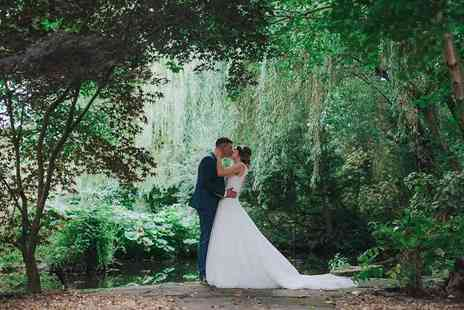 Sheldrakes - Wedding package for 30 day guests and 50 evening guests including arrival drinks and canapes, three course dining in the day, master of ceremonies and more - Save 0%