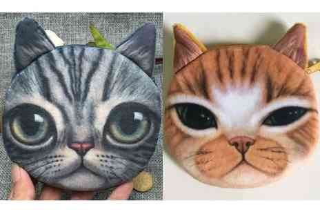 GetGorgeous - Cat coin purse choose from two designs - Save 77%
