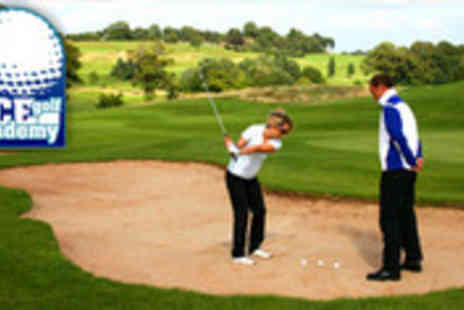 Ace Golf Academy - Three 1 to 1 golf lessons with PGA qualified instructor - Save 72%