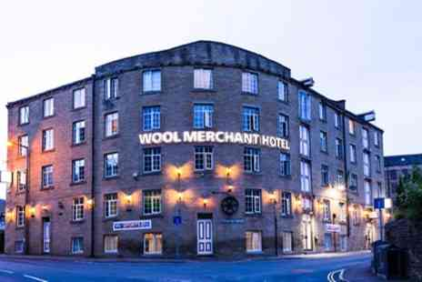 Wool Merchant Hotel - One To Three Nights Stay for 2 With Breakfast, Dinner & Free Flowing Drinks Options - Save 53%