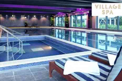 Village Spa - Spa Day with Two Treatments and Cream Tea for One or Two - Save 49%