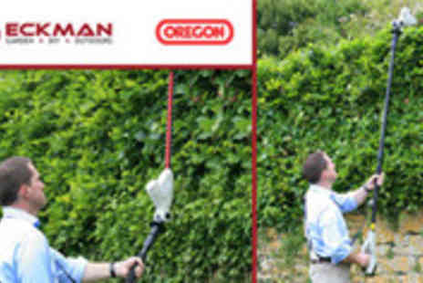 MySmartBuy.com - Eckman 18V Lithium Ion Cordless Rechargeable Hedge Trimmer - Save 42%