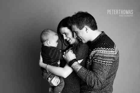 Peter Thomas Photography - One hour family photoshoot with a photo mug - Save 89%