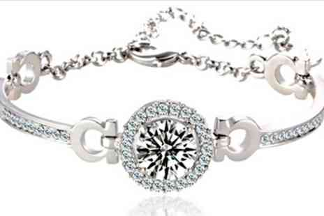 Groupon Goods Global GmbH - 3.5 Carat Bracelet - Save 90%