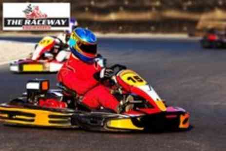 The Raceway - 30 minute indoor go kart experience - Save 82%