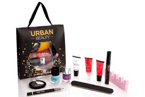 Groupon Goods Global GmbH - One, Two or Four 10 Piece Urban Beauty Lucky Dip Cosmetics Gift Bags - Save 0%