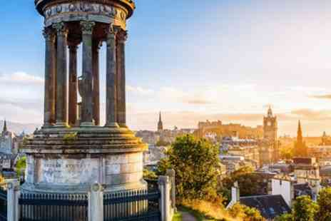 Super Break - Edinburgh hotel stay including breakfast & spa treatment - Save 0%