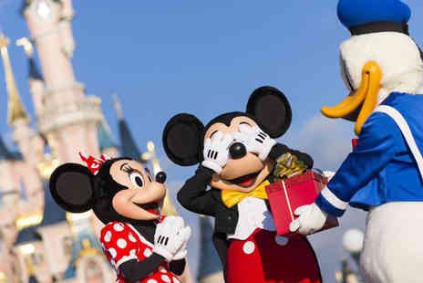 Super Escapes Travel - Two night Disneyland Paris getaway with return flights - save up to 37% - Save 37%