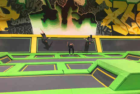 Jump XTreme - One hour of trampolining choose from Bolton and Tamworth locations - Save 40%