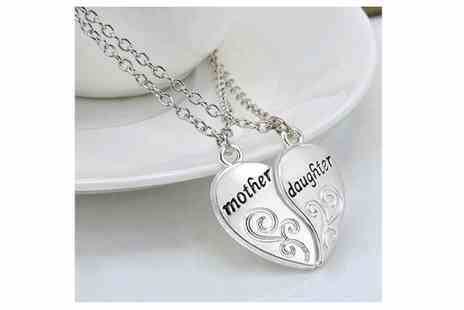 Get Gorgeous - Pair of mother and daughter pendants - Save 65%