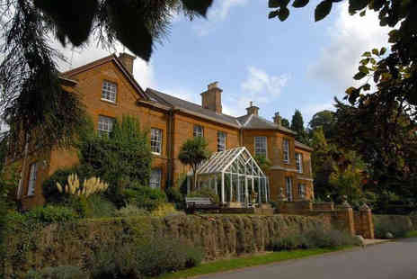 Sedgebrook Hall - Overnight stay for two including breakfast, dinner and leisure access or two night with dinner on the first night only - Save 36%