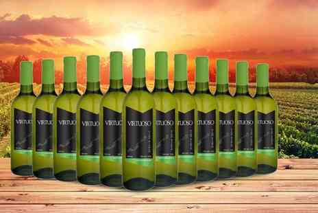 Q Regalo - 12 bottles of Spanish Virtuoso sauvignon blanc - Save 69%