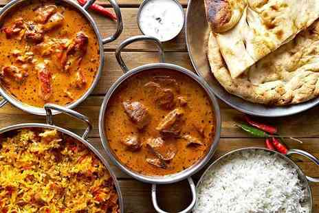 Shri Bheemas Indian Restaurant - Five course unlimited Indian buffet lunch for two - Save 0%