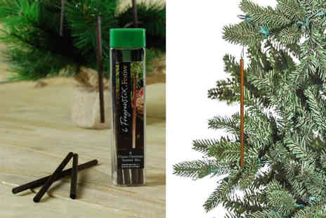 London Exchain Store - Pack of six Christmas tree scent sticks - Save 75%