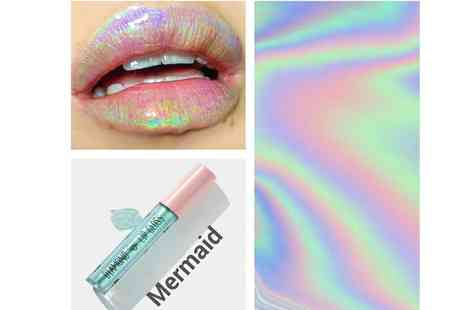 Get Gorgeous - Colour shifting holographic lip glaze choose from three colours - Save 67%