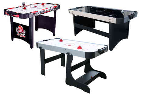 Games and Fitness - 4ft air hockey table - Save 55%