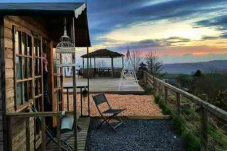 Abels Harp - One or Two Night Glamping for Two with Breakfast, Hot Tub Access and Wine or Gin Cream Tea - Save 30%
