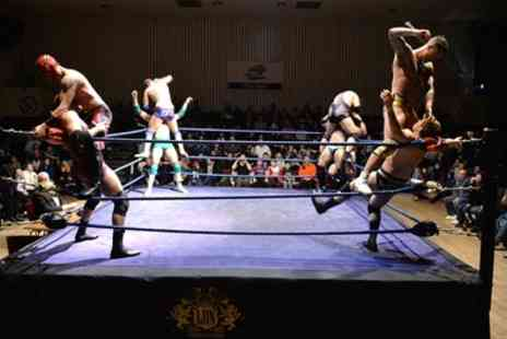 LDN Wrestling - One or two tickets or one family ticket to LDN Wrestling Event on 15 December 2018 To 23 February 2019 - Save 38%