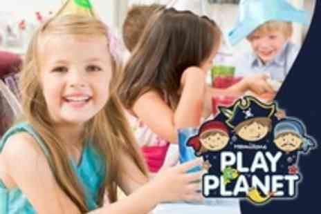 Hamiltons Play Planet - Kids Party For Up to Ten With Food and Host - Save 61%