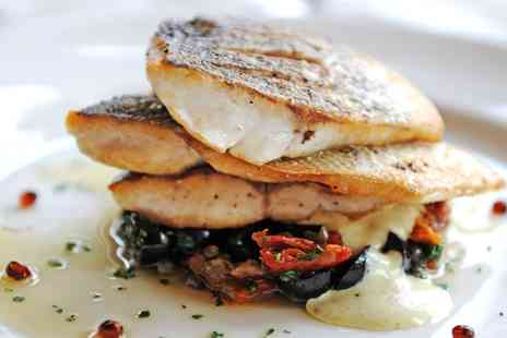 Glewstone Court Hotel - Two AA Rosette tasting menu meal for 2 near Ross on Wye - Save 58%