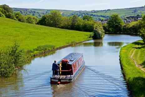 Blue Swan Boat Hire - Afternoon tea & canal boat cruise for 2 - Save 63%