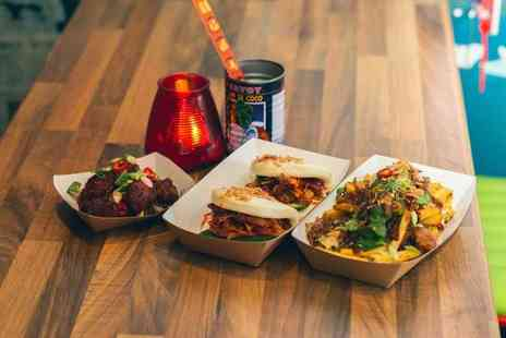 Miss Woos - Asian street food sharing platter for two people with a cocktail each - Save 61%