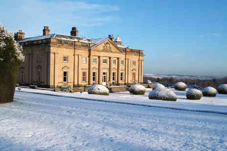 Wortley Hall - Overnight stay for two people with breakfast, a bottle of Prosecco and cream tea - Save 41%