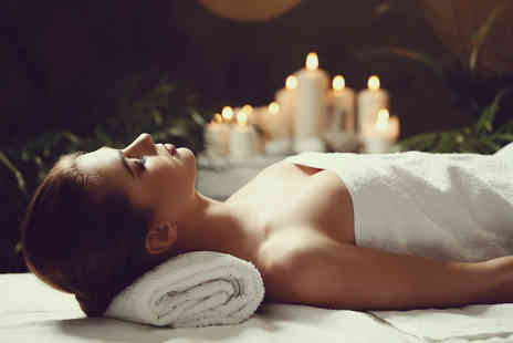 The Secret Boutique - 90 minute Winter Warmer pamper package with four treatments, a glass of bubbly and a mince pie - Save 74%